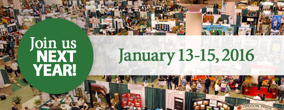 Join us next year, January 13-15, 2016 at the Minneapolis Convention Center for the Northern Green Expo!